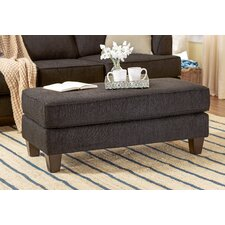 Serta Upholstery Davey Ottoman by Three Posts