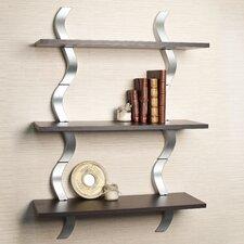 Waves 3 Level Wall Shelf (Set of 3)