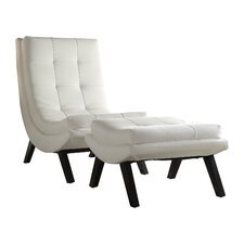 Dmitri Lounge Chair and Ottoman Set