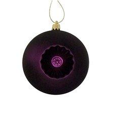 Retro Reflector Shatterproof Christmas Ball Ornament (Set of 6)