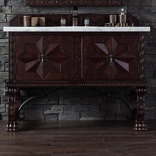 Avebury 48 Single Antique Walnut Bathroom Vanity Set by Astoria Grand