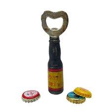 Happy Brew Cast Iron Bottle Opener (Set of 2)