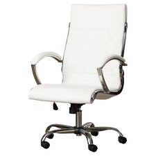 Camp Mabry Leather Executive Chair