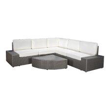 Sirmans 6 Piece Deep Seating Group with Cushion