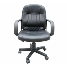 Mid-Back Desk Chair with Arms