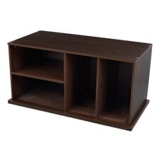 "17"" Storage Unit with Shelves"