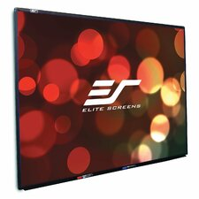 Screen Universal Series Black Fixed Frame Projection Screen