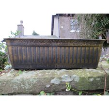 Floral Fluted Trough Plant Pot