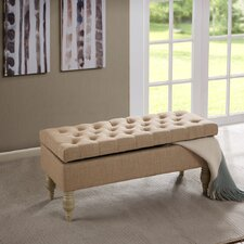 Luxe Ottoman by Madison Park