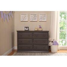 Signature 6 Drawer Double Dresser