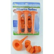 6-Piece Plastic Garden Watering Spike Set