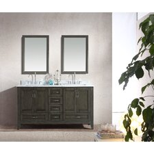 Jude 60 Double Bathroom Vanity Set by Ari Kitchen & Bath