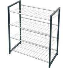 Saca Peak 4-Tier Shoe Rack