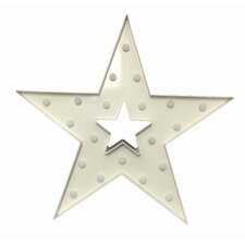 Star Battery Operated Lighted Sign Wall Décor