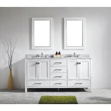 Aberdeen 72 Double Bathroom Vanity Set by Eviva