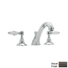 Country Double Handle Bath Tub Filler Faucet with Lever Handle by Rohl