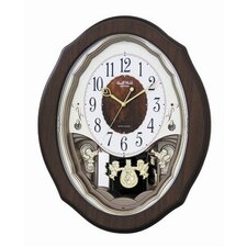 Precious Angels Melody Wall Clock
