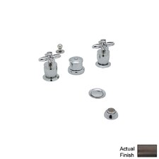 Michael Berman Double Handle Vertical Spray Bidet Faucet by Rohl