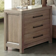 Lyons 3 Drawer Nightstand by August Grove