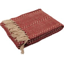 Striped Weave Throw