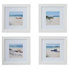 Umbrella Framed 4 Piece Photo Graphic Print Set on Paper (Set of 4)