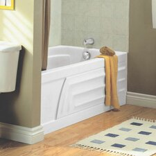 """Colony 60"""" x 30"""" Air Tub with Integral Apron and Hydro Massage"""