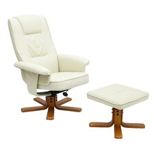 Asa Recliner with Footstool