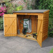 6 Ft. W x 2.5 Ft. D Wooden Lean-To Shed