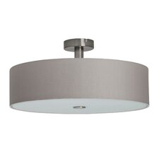 Gentle 4 Light Semi Flush Ceiling Light