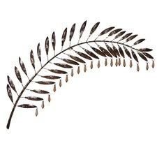 Wanddekoration Palmblatt