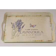 44 cm Tablett Lavendel