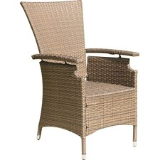 Lanzarote Adjustable Garden Dining Chairs (Set of 2)