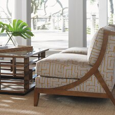 Island Fusion Tasman Slipper Chair by Tommy Bahama Home