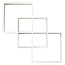 3 Intersecting Decorative Accent Shelf