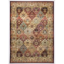Classic Knotted  Brown Rug
