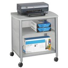 Impromptu Mobile Printer Stand with Shelf