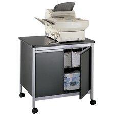 Steel Deluxe Mobile Printer Stand with Doors
