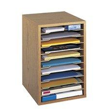 Wood Desktop Sorter