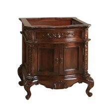 Bordeaux 30 Bathroom Vanity Cabinet Base in Colonial Cherry by Ronbow