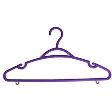5-tlg. Kunststoffkleiderbügel