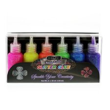 20 Ml Neon Color Glitter Glue
