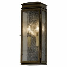 Whitaker 2-Light Outdoor Flush Mount