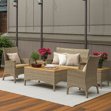 Torbay 6 Piece Deep Seating Group Set with Cushion
