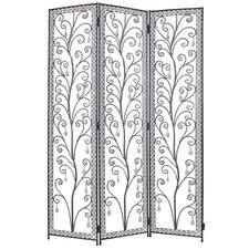 172cm x 120cm Venezia Decorative 3 Panel Room Divider