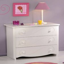 Alice 3 Drawer Chest of Drawers