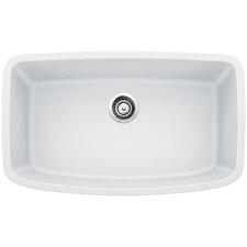 """Valea 32"""" x 19"""" Super Single Undermount Kitchen Sink"""