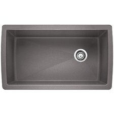 """Diamond 33.5"""" x 18.5"""" Undermount Kitchen Sink"""