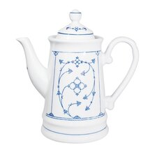 Blue Saks 1.3 L Porcelain Tea Pot