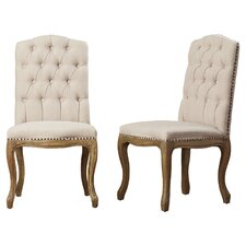 Armstead Tufted Parsons Chair (Set of 2)