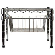 Lyons Adjustable Shelf With Under Cabinet Organizer